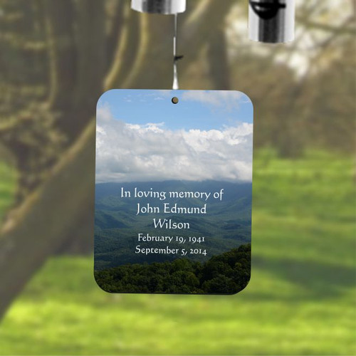 Peaceful Mountaintop Breeze Memorial Chime