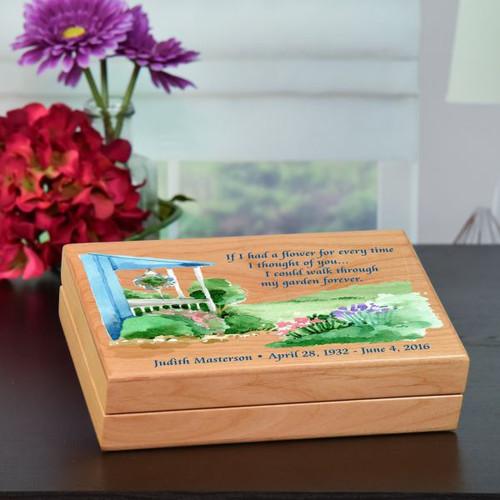 Garden of Thoughts Keepsake Box