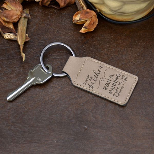 Forever Brother Keychain