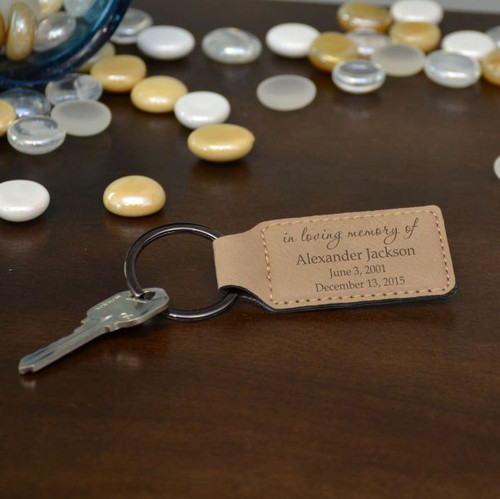 In Loving Memory Key Chain