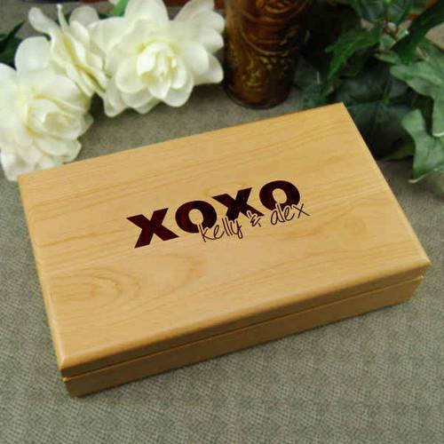 XOXO Couples Keepsake Box