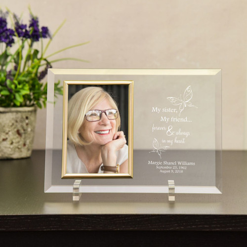 Forever & Always Sister Memorial Picture Frame