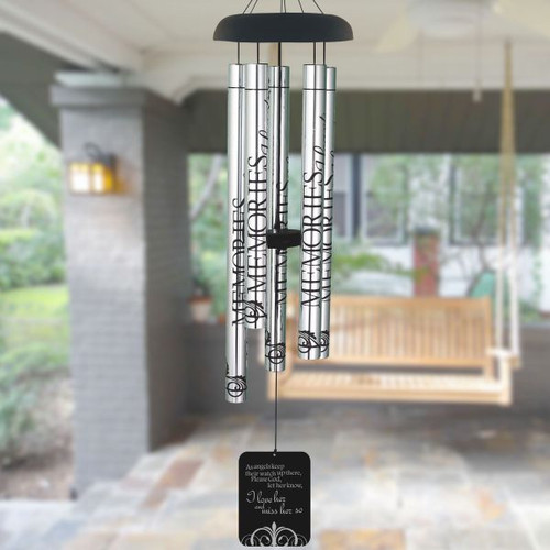 Miss Her So Memorial Wind Chime