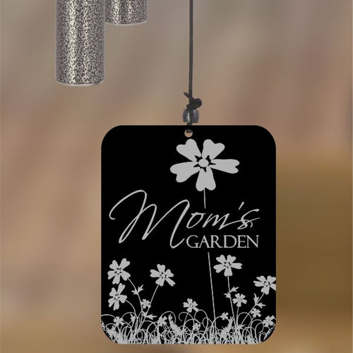 Mom's Garden Pewter Wind Chime