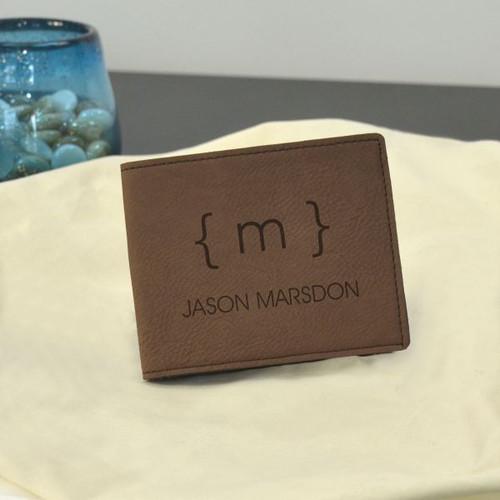 Modern Monogram Wallet