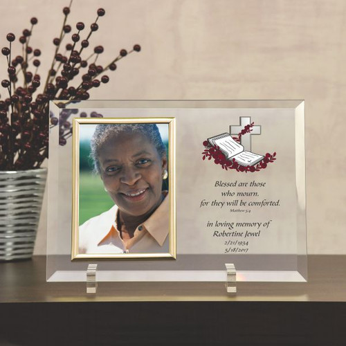 Blessed Are Those Who Mourn Memorial Frame