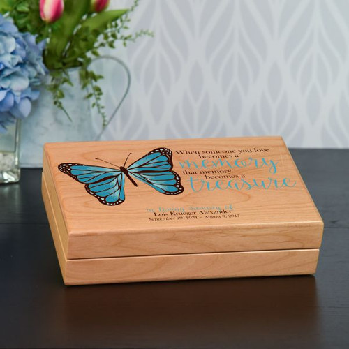 Treasured Memories Keepsake Box