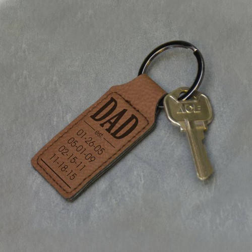 Established Dad Key Chain