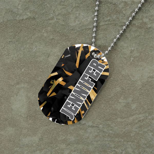 Personalized Cheerleading Dog Tag