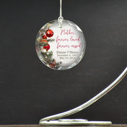 Loved Mother Memorial Ornament