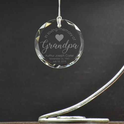 Loving Grandpa Ornament