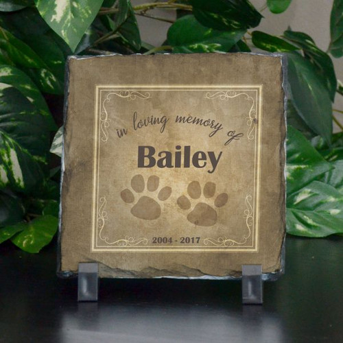 In Memory of our Pet Memorial Plaque