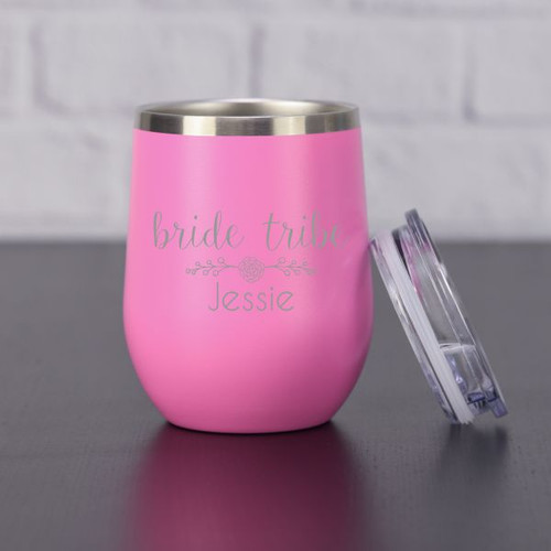 Blue Bride Tribe Wine Tumbler