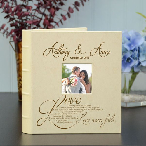 Love Never Fails Wedding Album