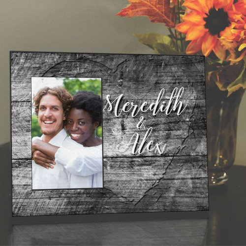 You and Me Personalized Frame for Couples