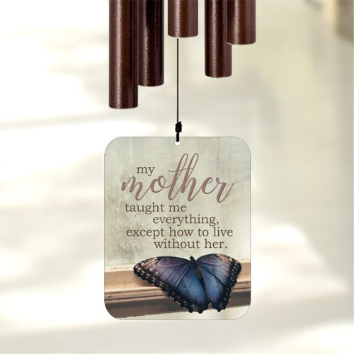 Loss of mother memorial wind chimes