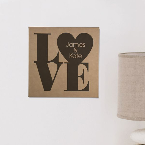 Love Personalized Wall Art