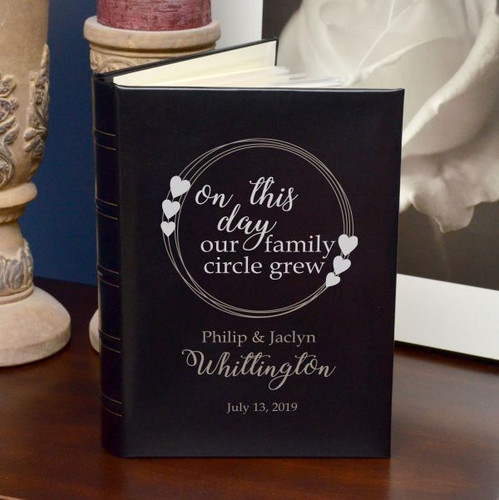 Wedding album gift for parens