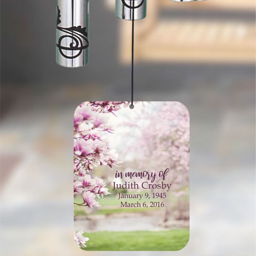 Personalized Memorial Wind Chime Sail