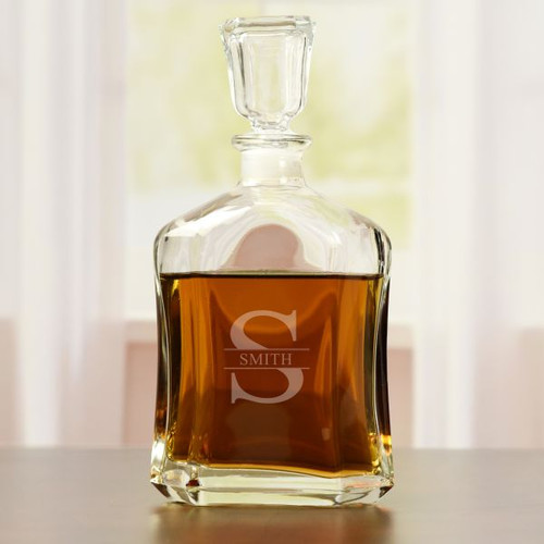 Classic Whiskey Decanter Personalized