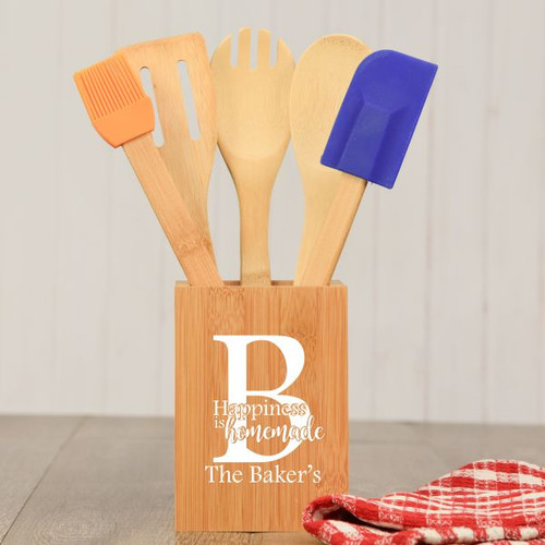 Happiness is Homemade Personalized Cooking Utensils