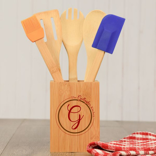 Personalized Monogram Cooking Utensils