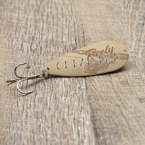 Really Great Dad Fishing Lure