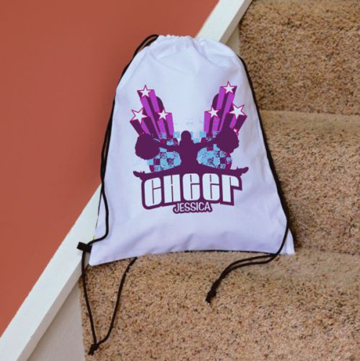 Drawstring Bag Hip Hop Cheerleader Drawstring Bag