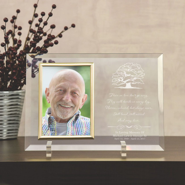 Beside Us Personalized Memorial Picture Frame