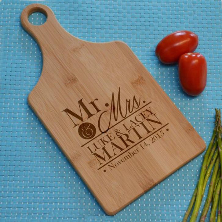 Mr. & Mrs. Personalized Cutting Board