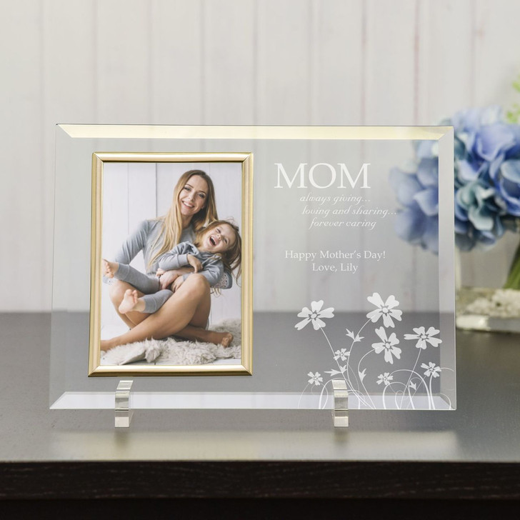 Forever Caring Mom Personalized Picture Frame