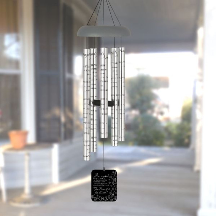 Too Beautiful For Earth Angel Wind Chimes