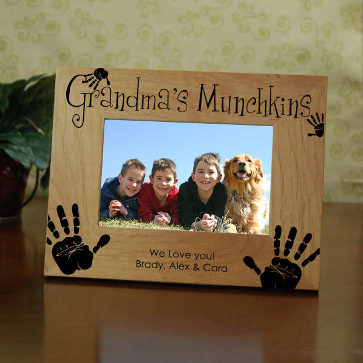Grandma's Munchkins Personalized Picture Frame