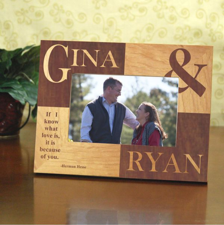 Couple's Name Personalized Frame