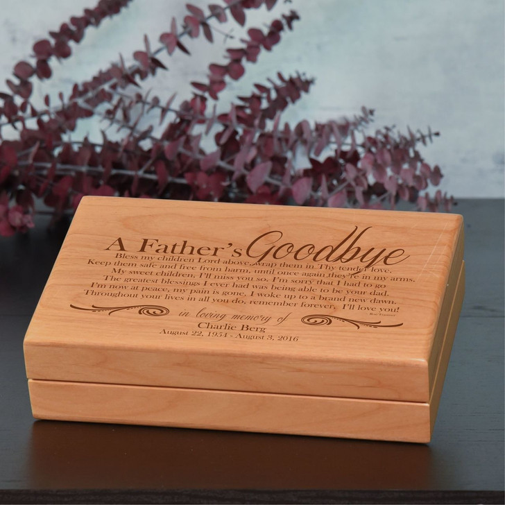 A Father's Goodbye Memory Box
