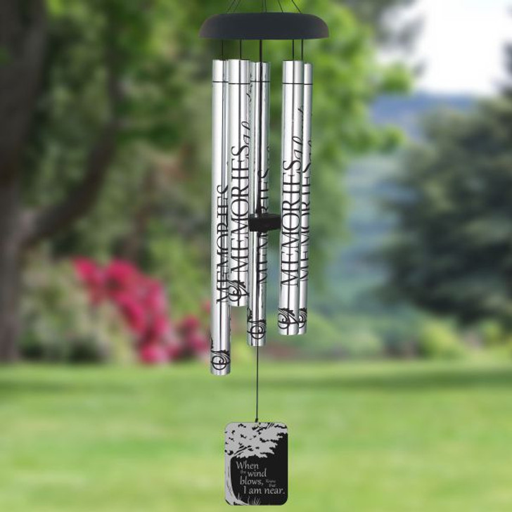 I Am Near Remembrance Wind Chime