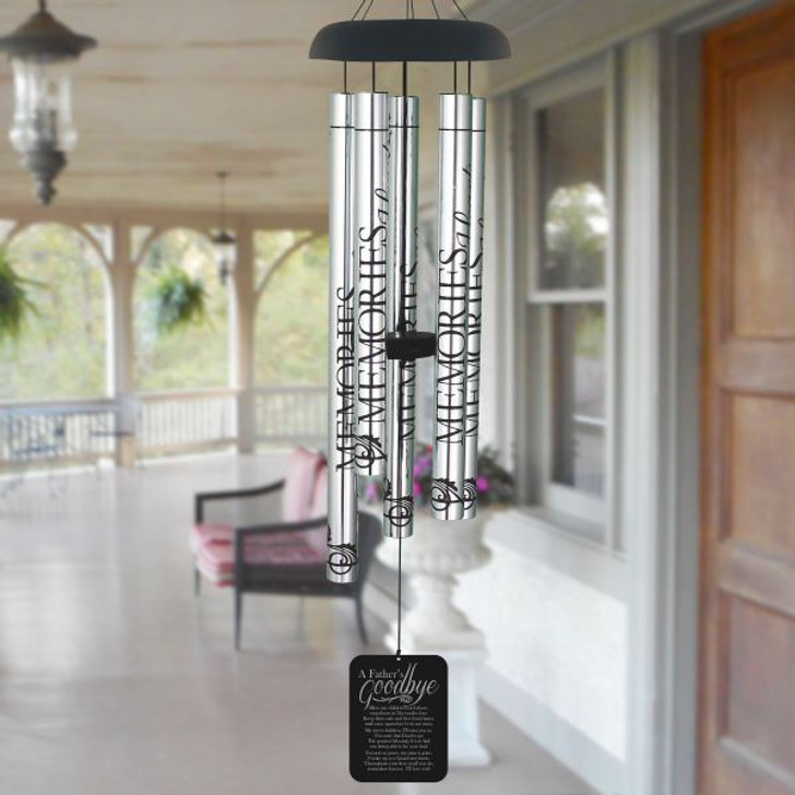 Father's Goodbye Memorial Wind Chime