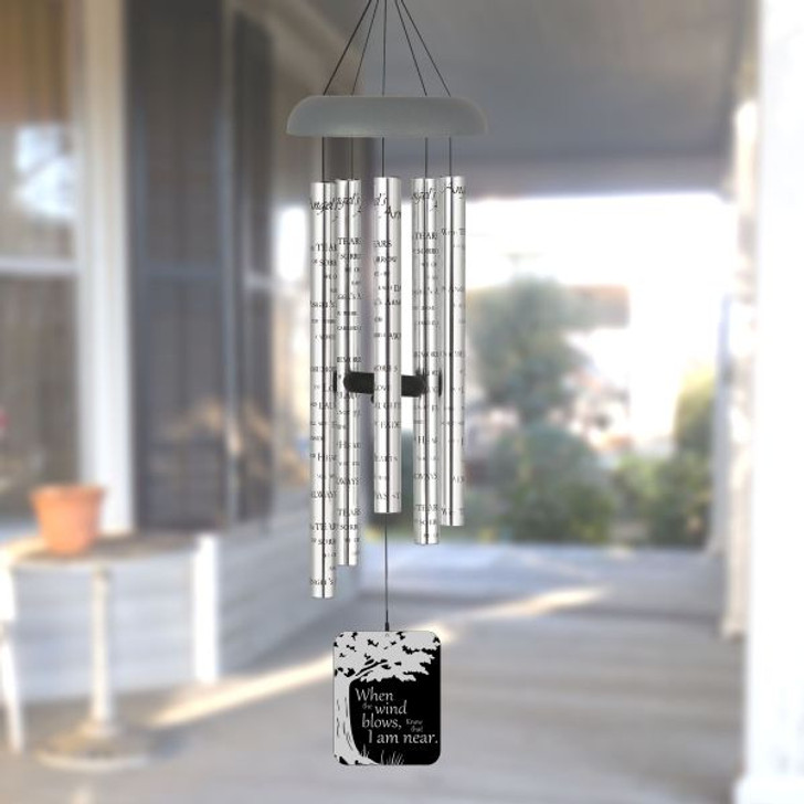When the Wind Blows Angel Memorial Wind Chimes