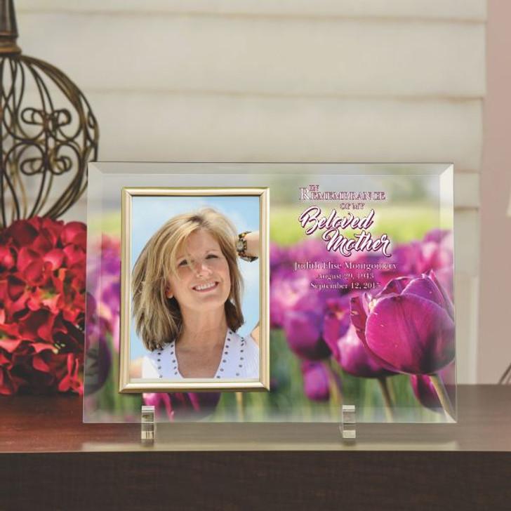 Beloved Mother Personalized Memorial Frame