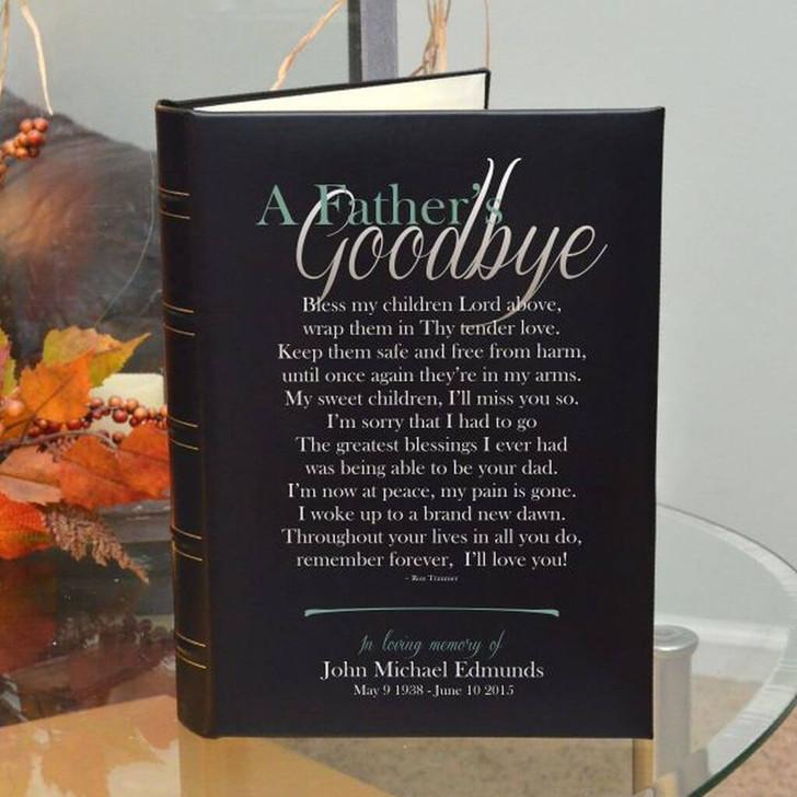 Father's Goodbye Memorial Photo Album