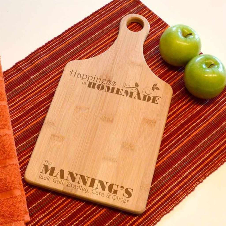 Homemade Happiness Cutting Board