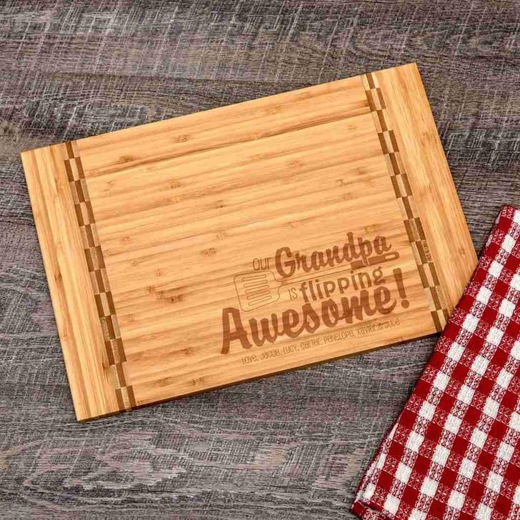 Awesome Grandpa Cutting Board