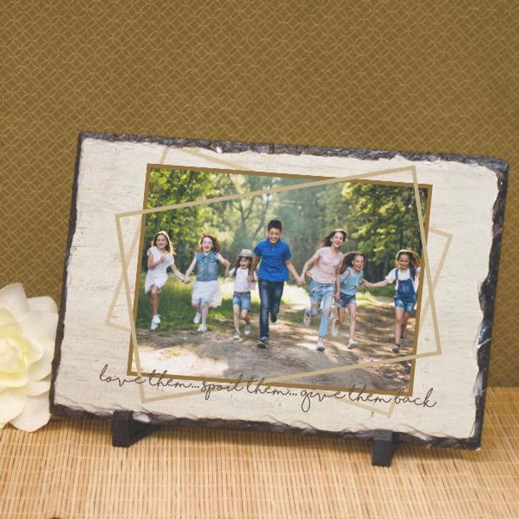 personalized plaque for grandparents from grandkids
