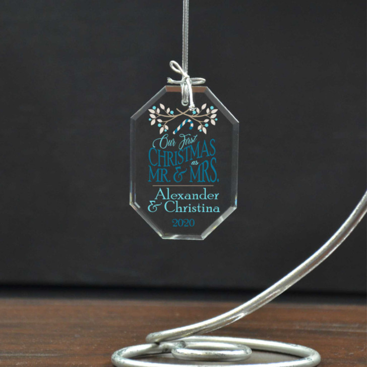 Couples first Christmas ornament