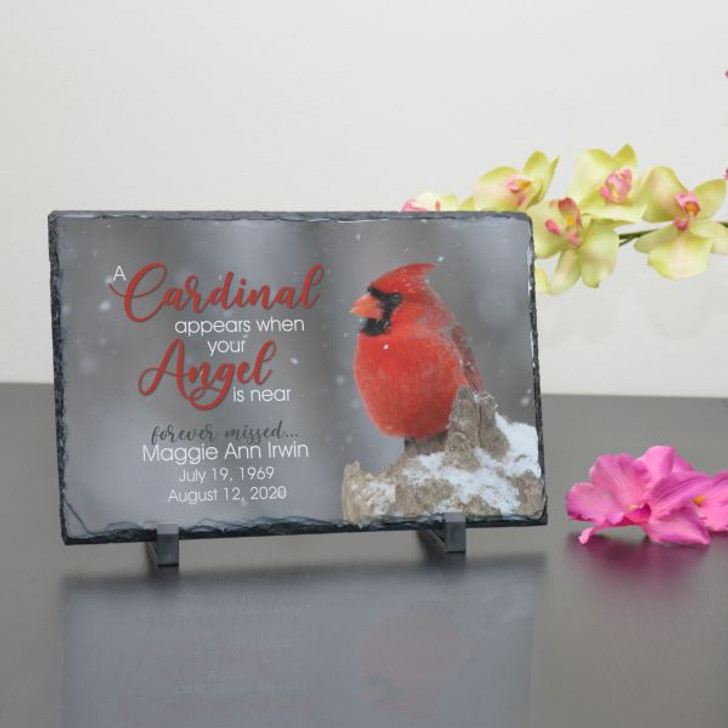 Personalized Cardinal Plaque