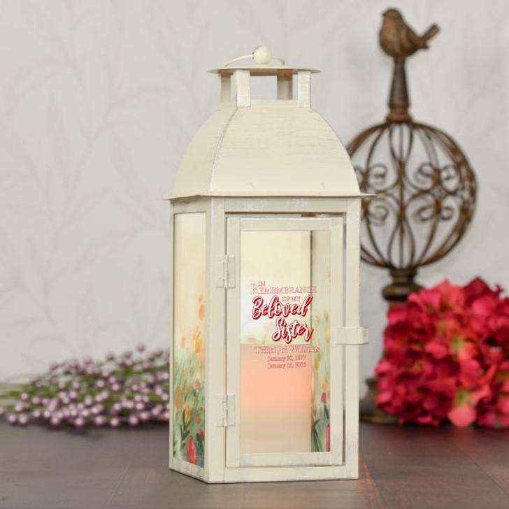 Beloved Sister Memorial Lantern