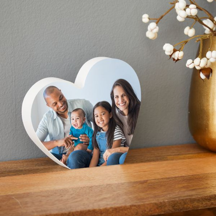Heart Plaque with a Personalized Photo