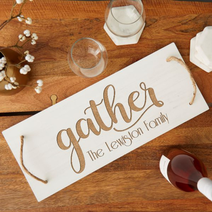 Gather Personalized Serving Board