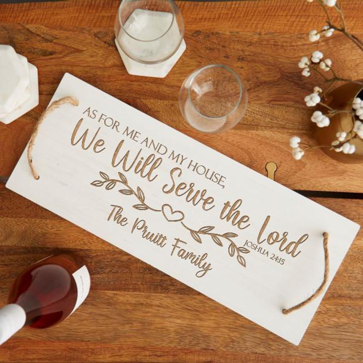 Serve the Lord Board