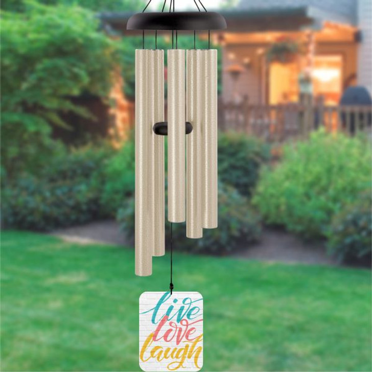 Live Laugh Love Wind Chime